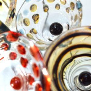 FLEUR en verre soufllé (en cours de réalisation)