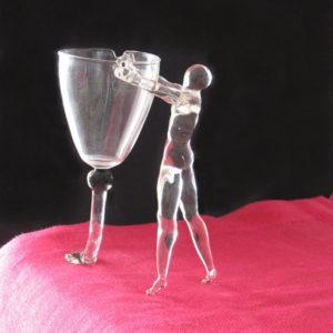 Sculptures en verre soufflé